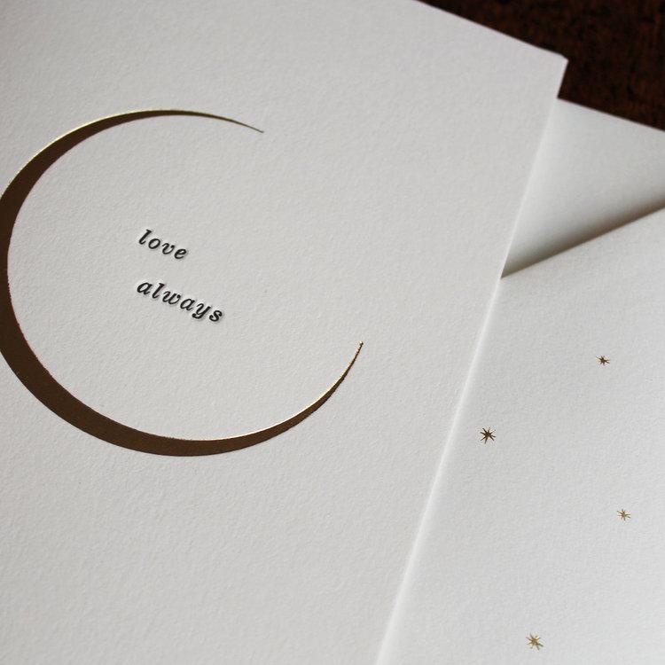 Love Always Greetings Card by Artcadia