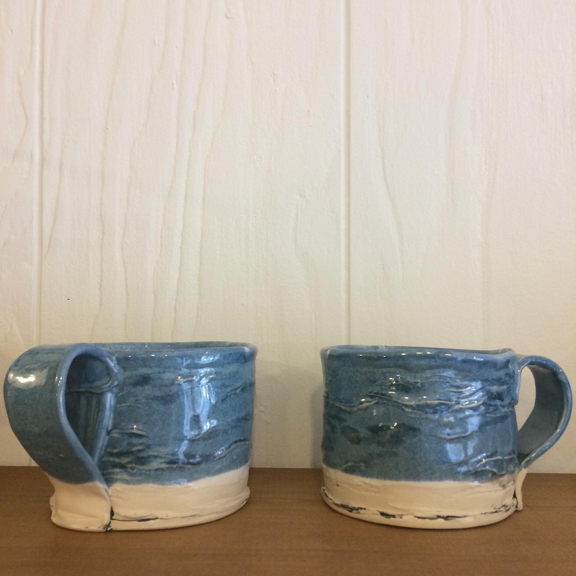 Handmade Lido Mug by Fiona Veacock