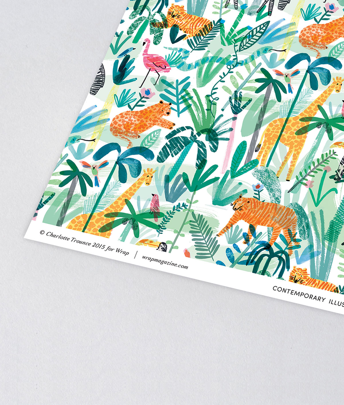 Jungle Animals Giftwrap by Wrap