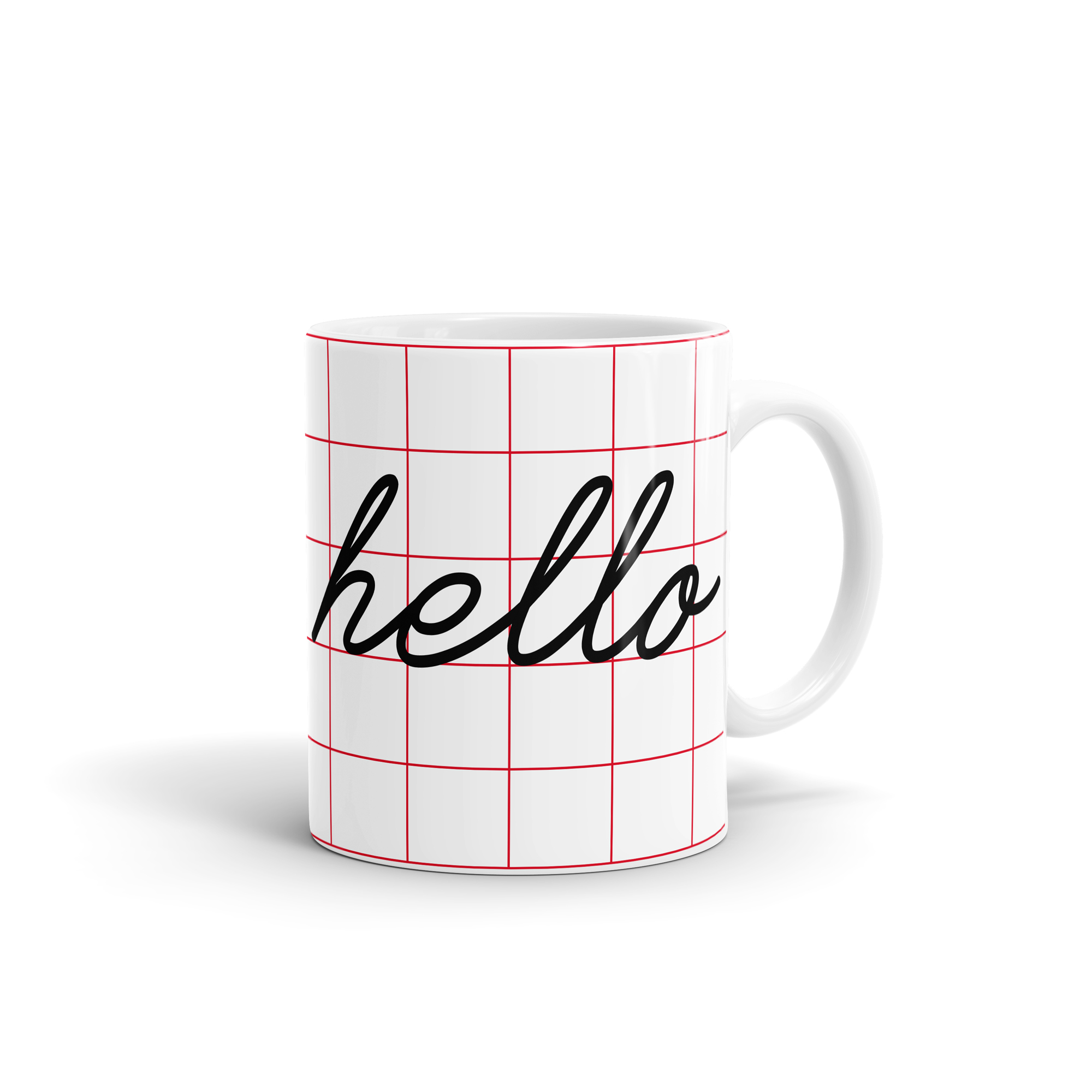 Hello Mug by WEEW Smart Design