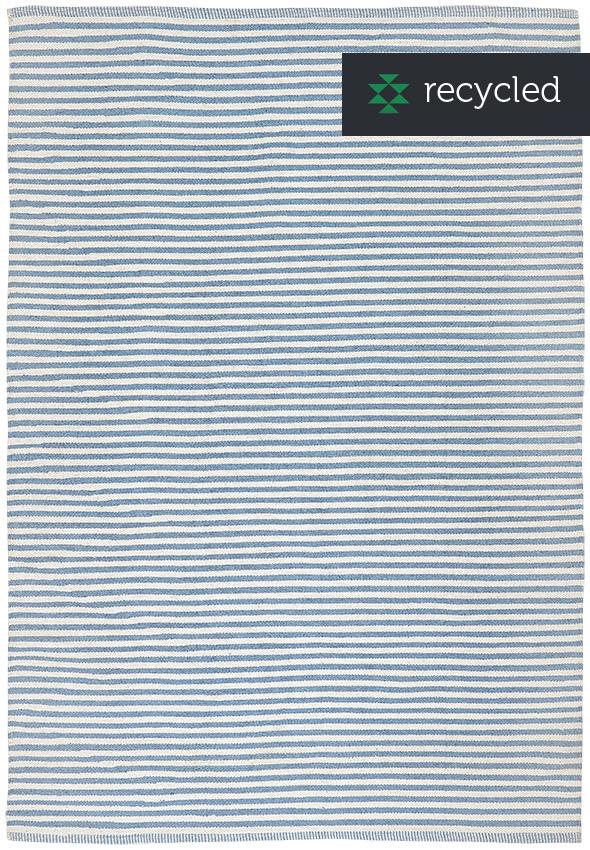 Liv Paris Striped Recycled Cotton Rug