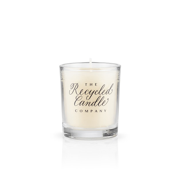White Jasmine & Mint Candles by The Recycled Candle Co. - Sale!