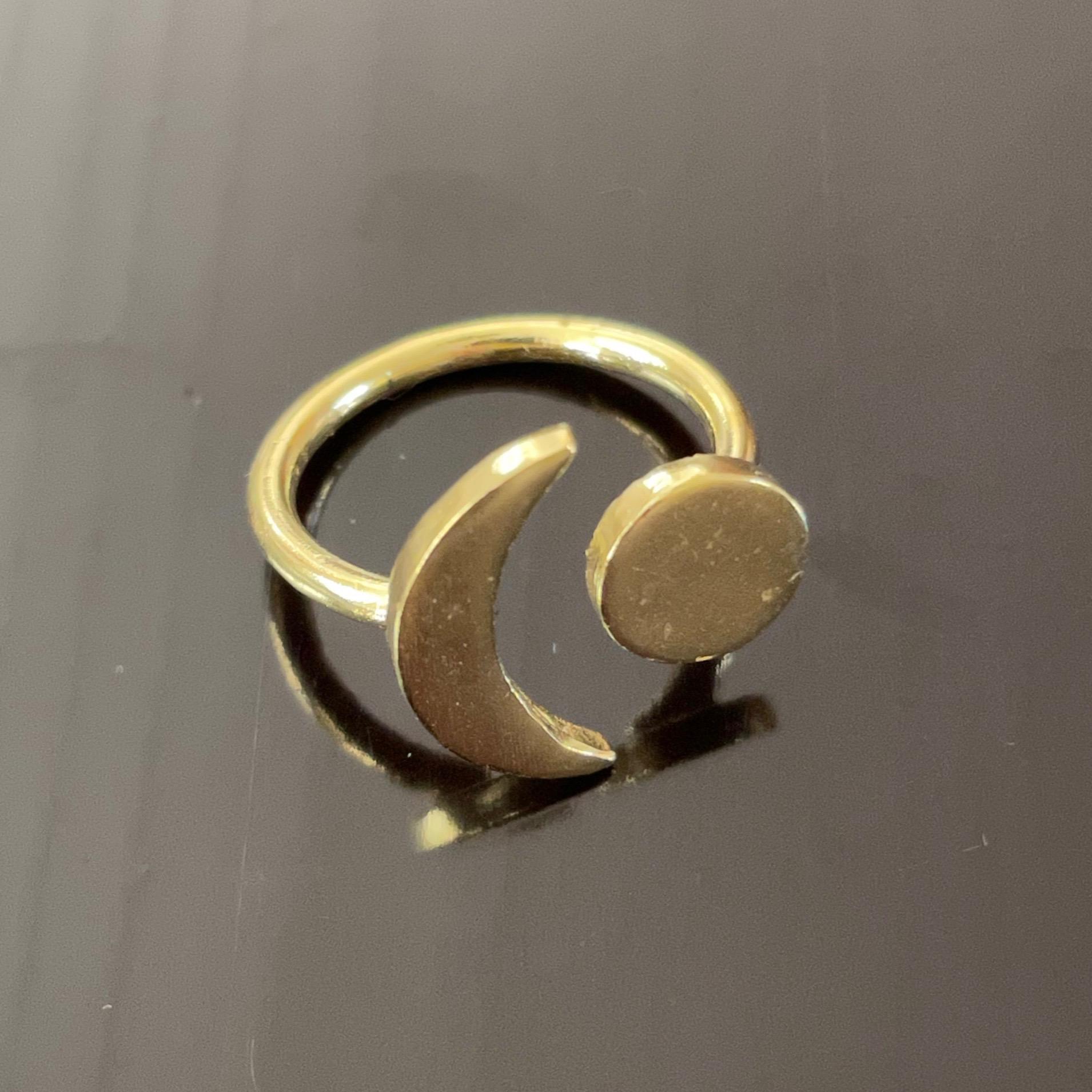 Irth Brass Cosmos Ring