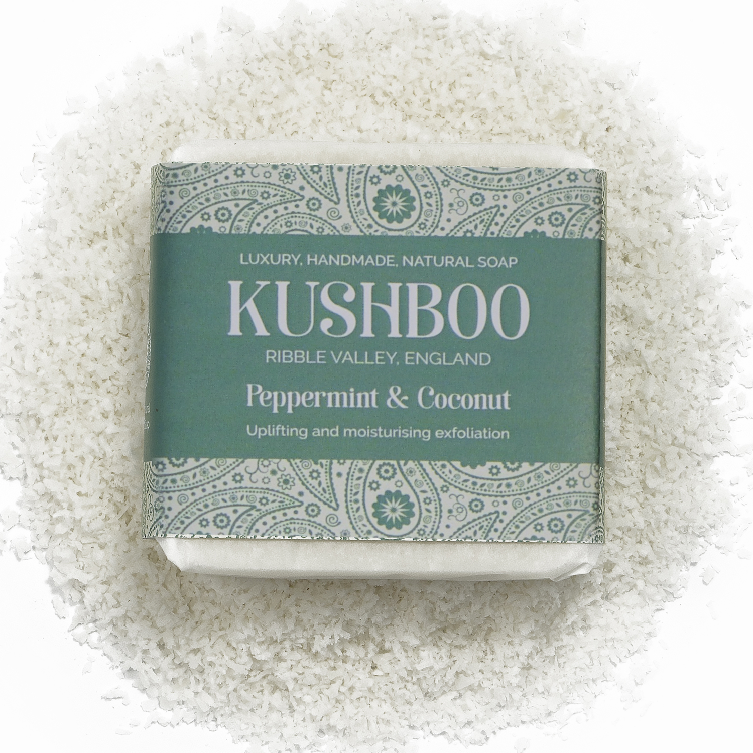 Kushboo Peppermint and Coconut Soap