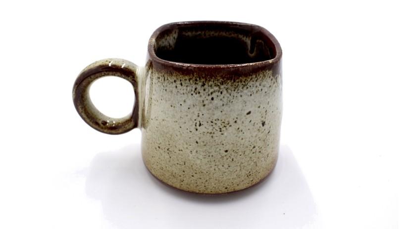 Kaapi Coffee Cup in Tawny Brown