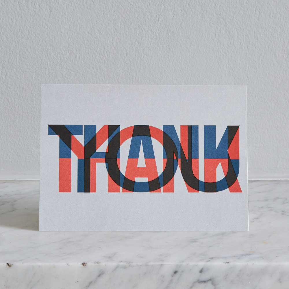 Thank You Card by Pressed & Folded