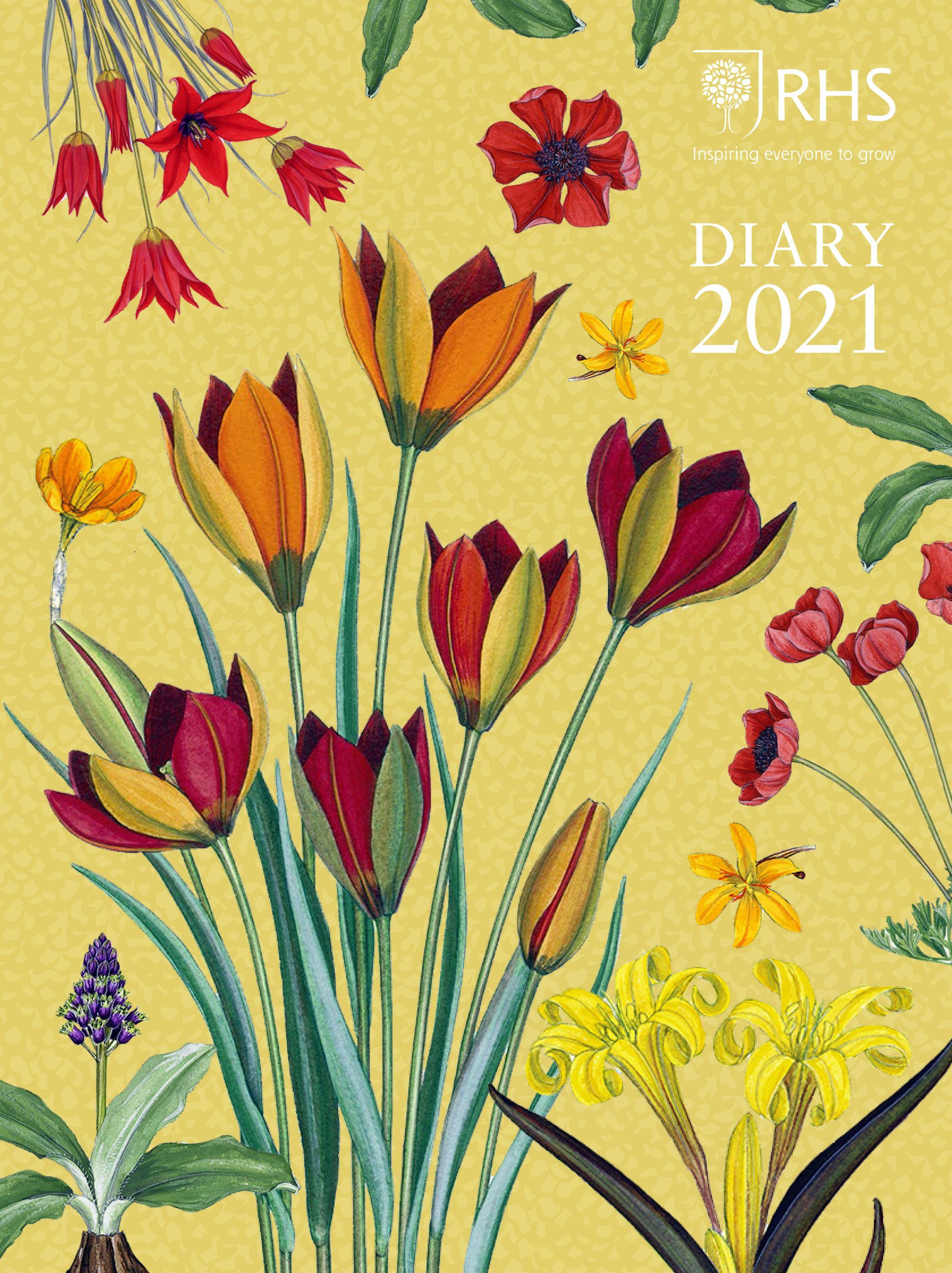 RHS Desk Diary 2021