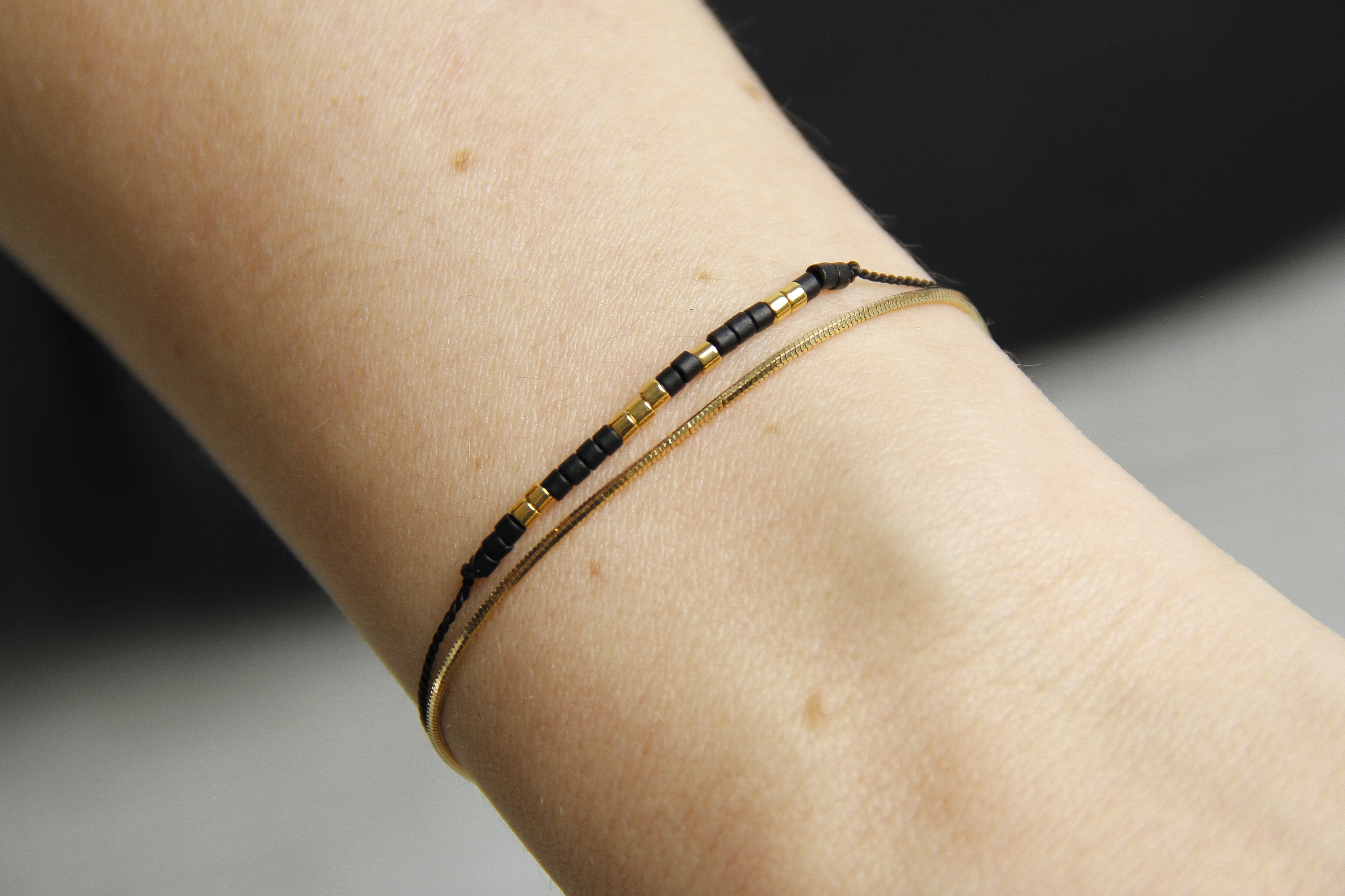 Miyuki Bead 24k Gold-plated Bracelet by State of A