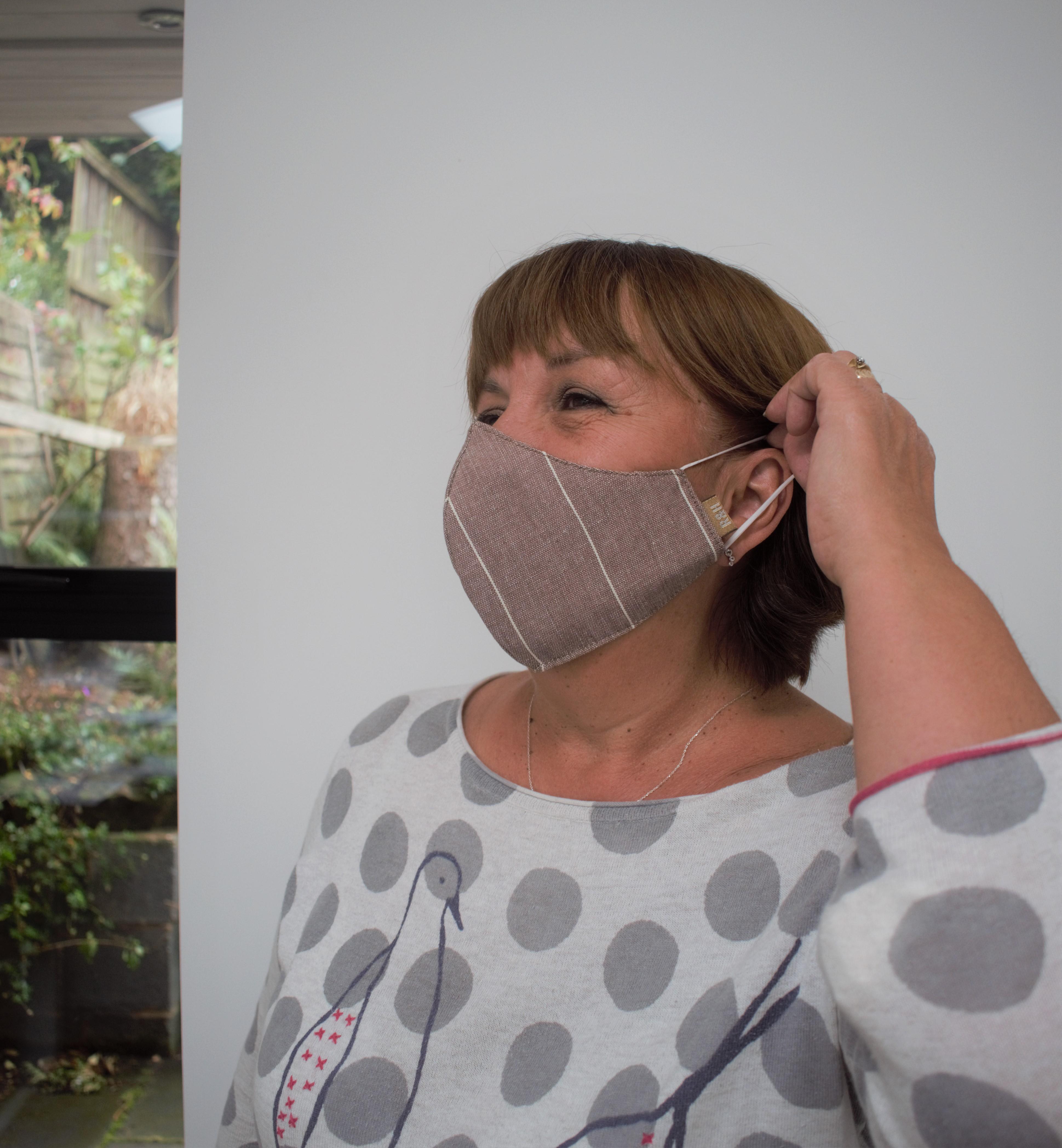 Screenprinted Cotton Facemasks