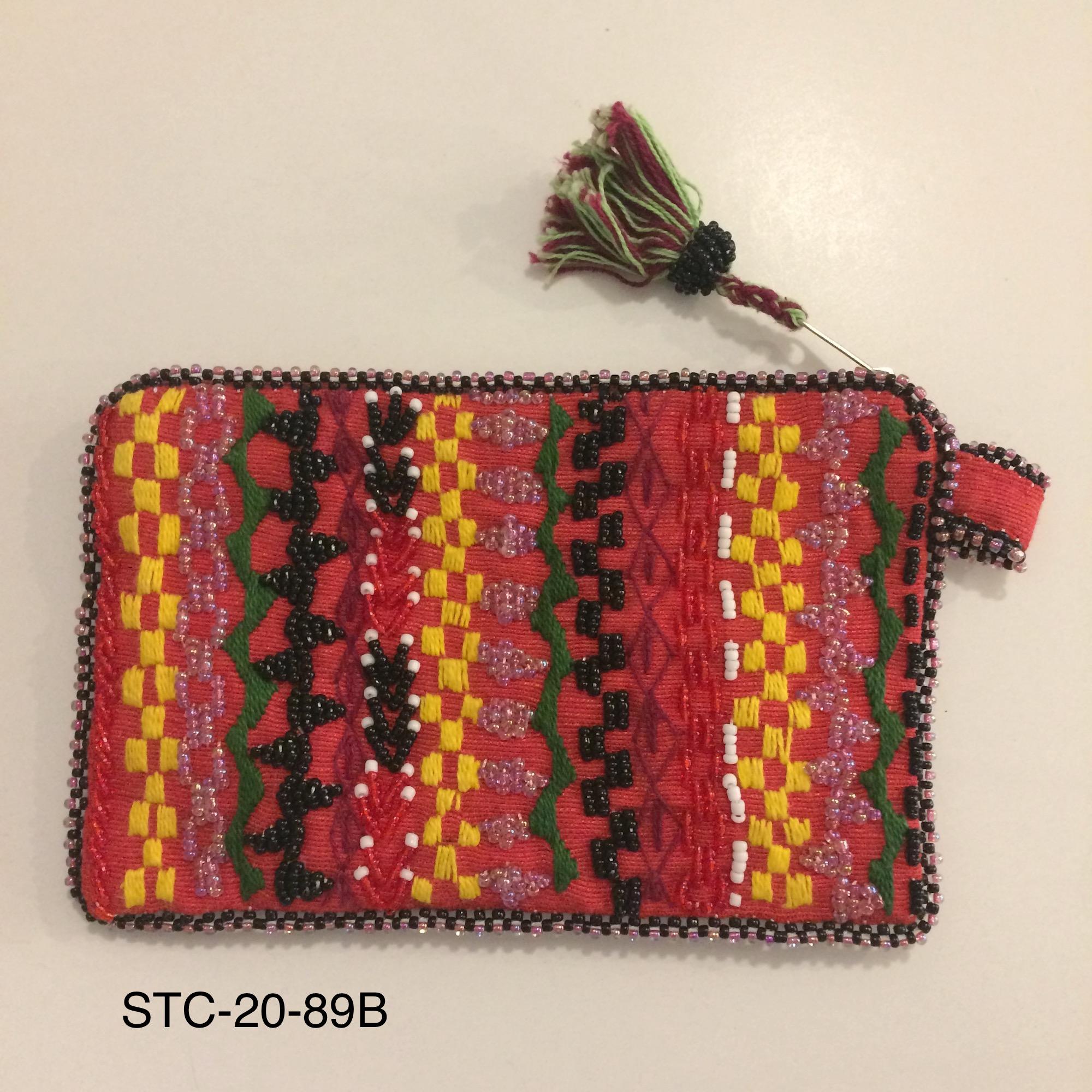 Medium Bedouin Beaded Purse - Various Colours