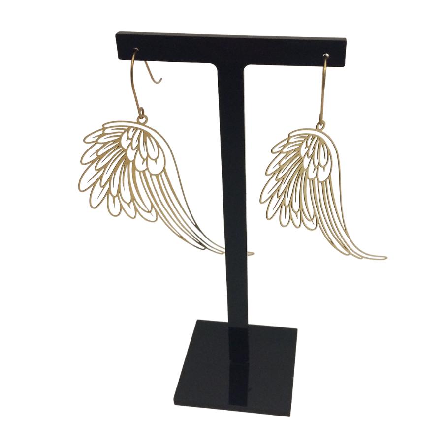 Irth Brass Wing Earrings