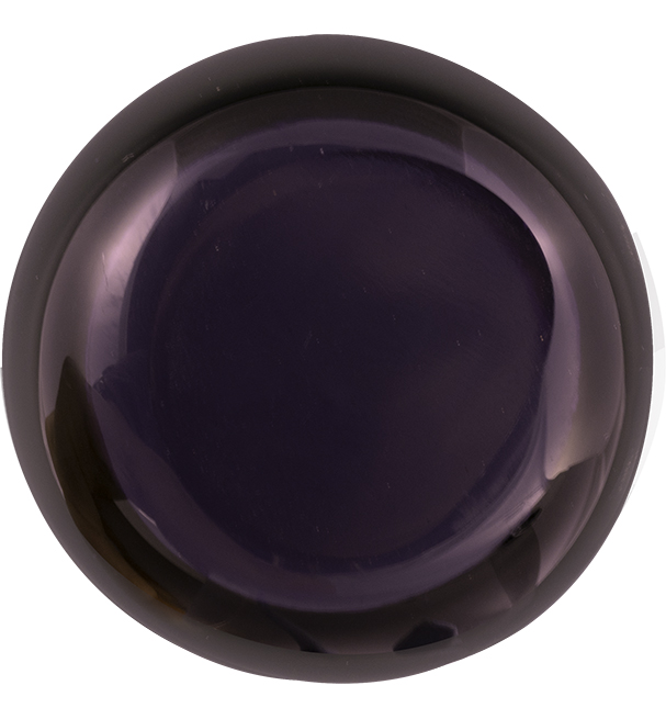 Aconite Violet Handblown Glass Tealight Holder