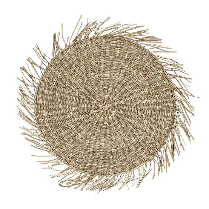 Liv Natural Seagrass Round Mat
