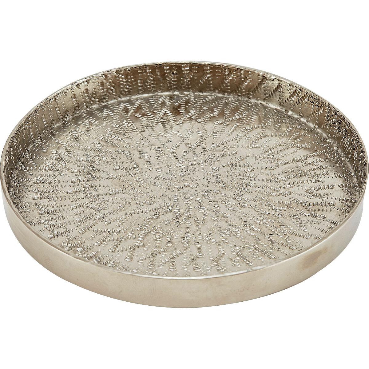 Liv Small 'Silver' Circular Tray