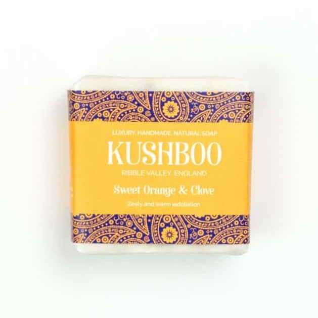 Kushboo Sweet Orange and Clove Soap