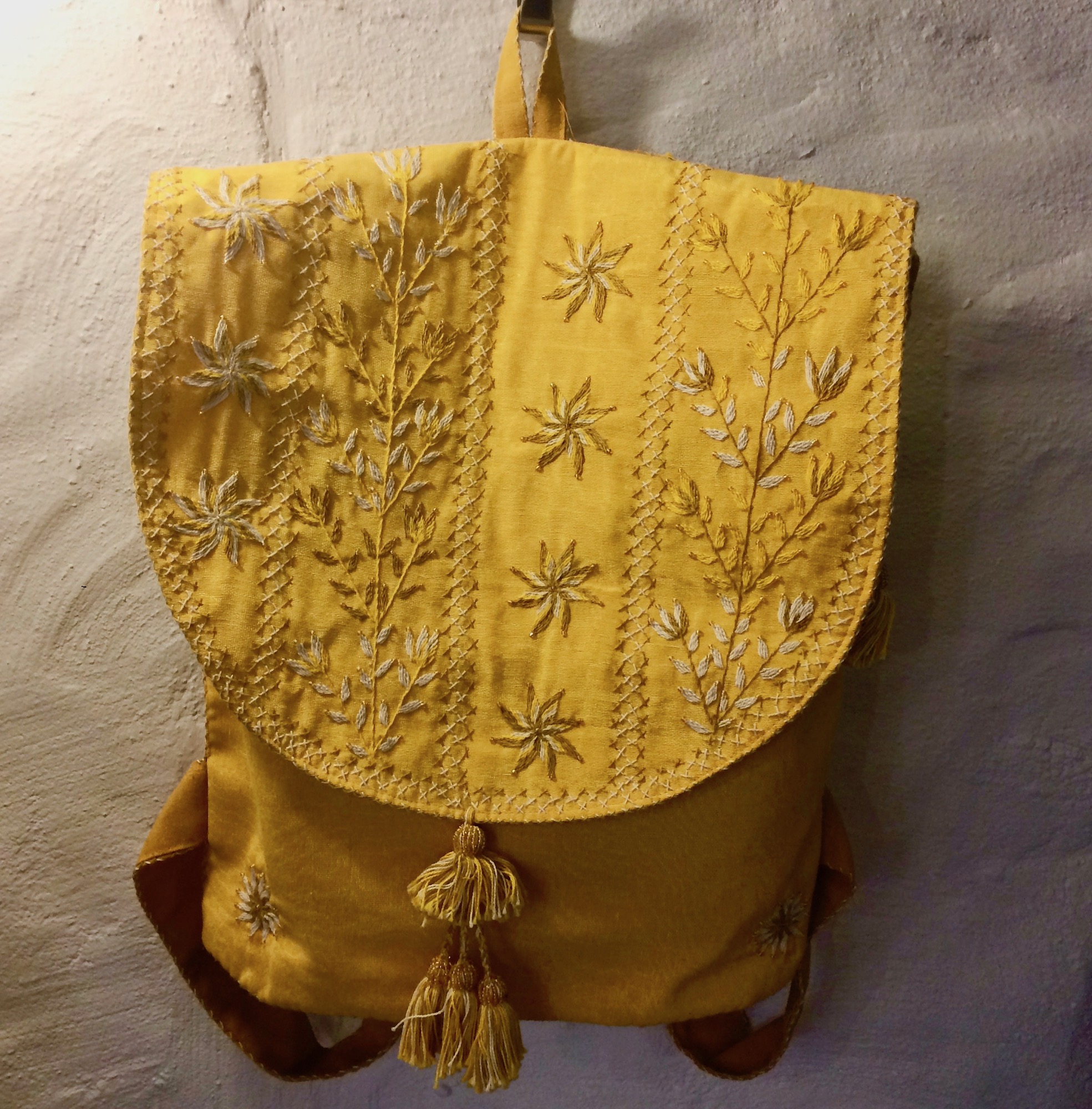 Bedouin Embroidered Rucksack