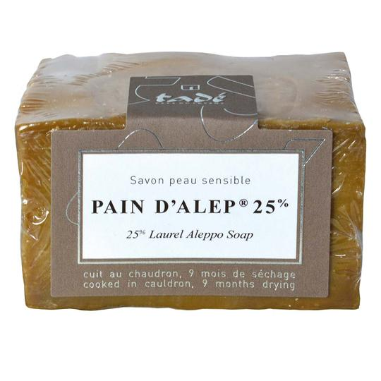 Tadé Pain d'Alep 25% Laurel Oil Soap - Sale.