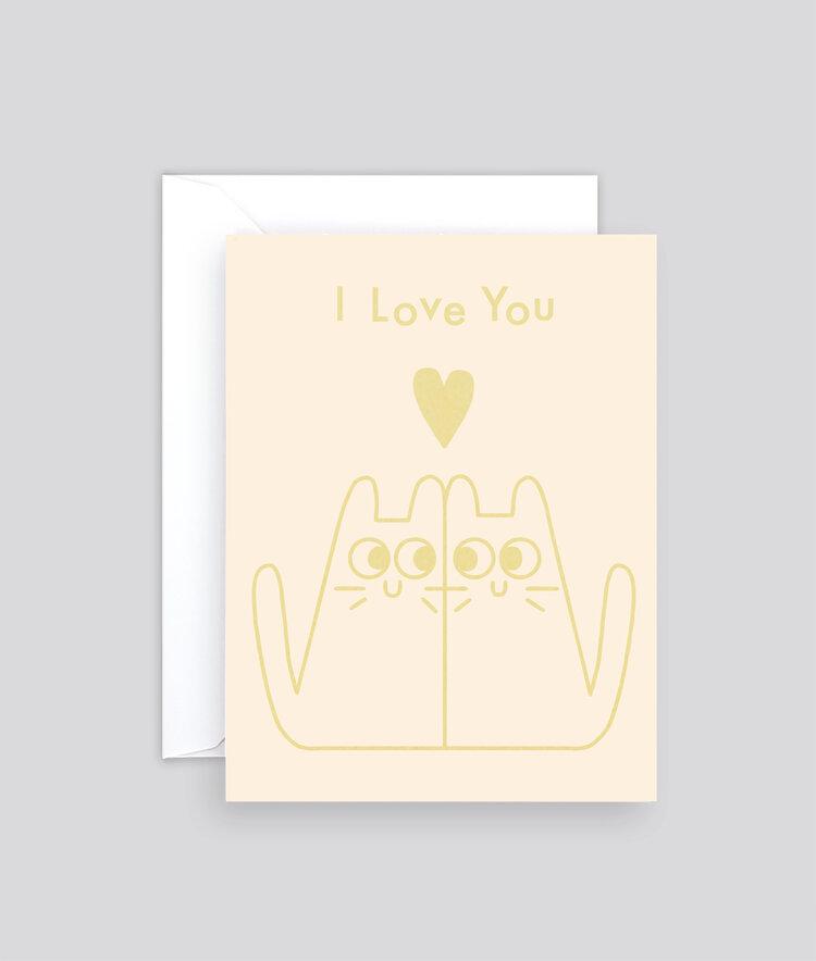 Mini Love Cats Card