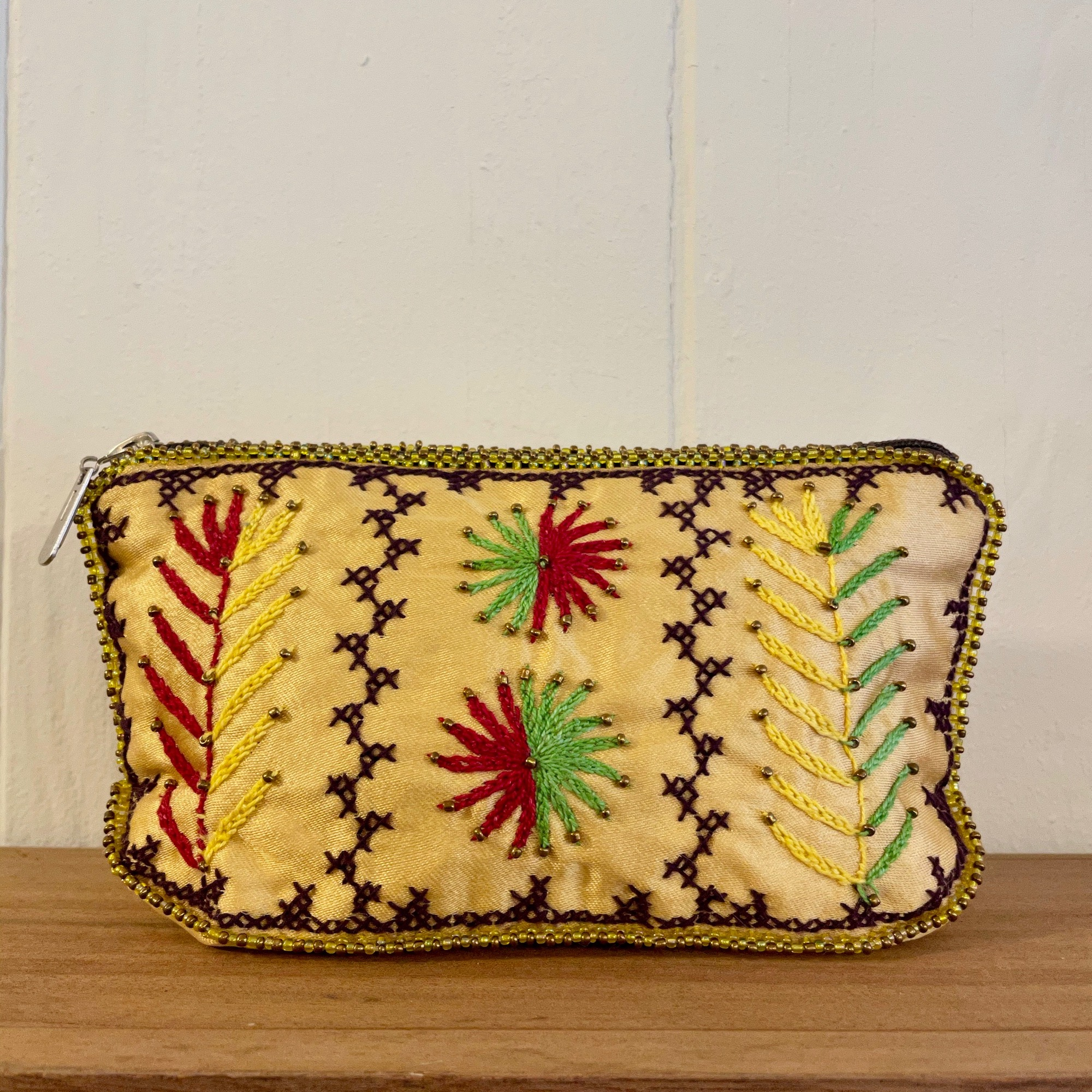 Bedouin Floral Embroidered Makeup Bags – Various Colours