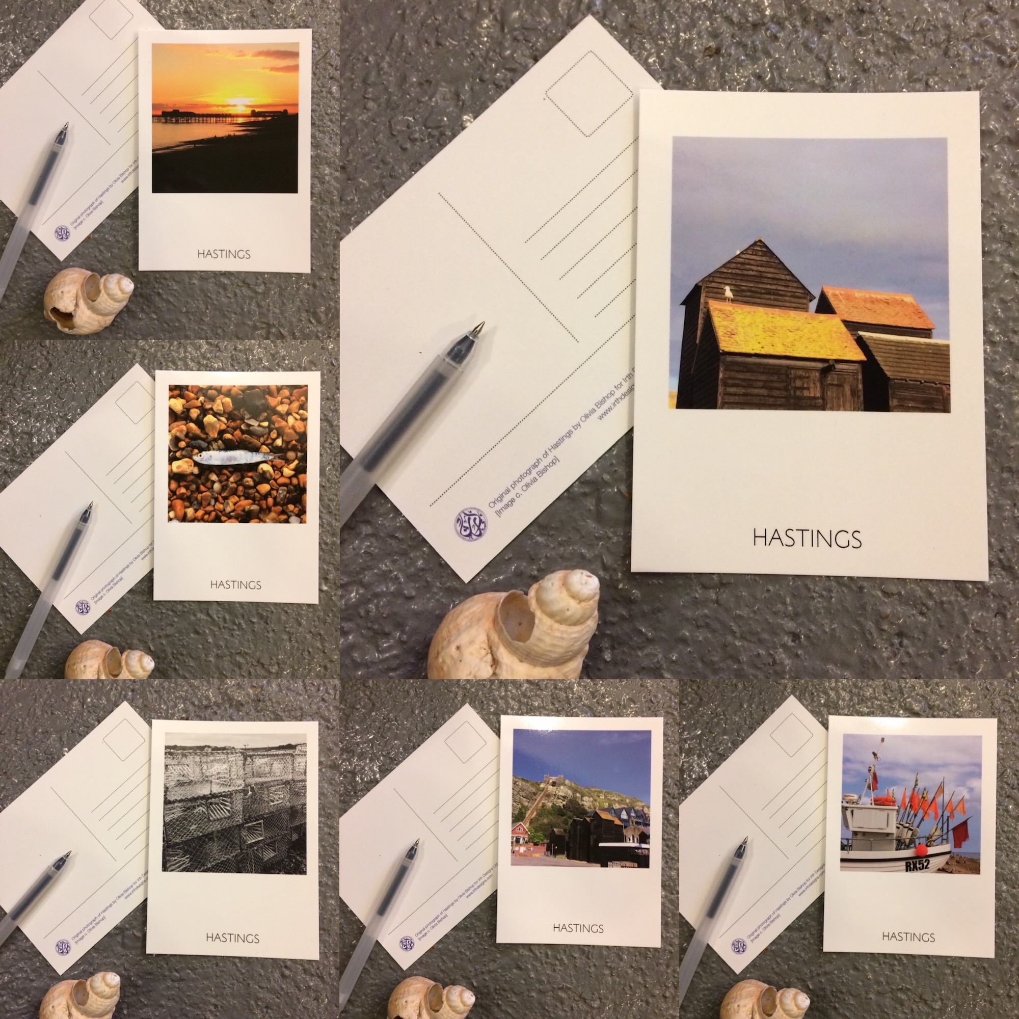Hastings Postcards