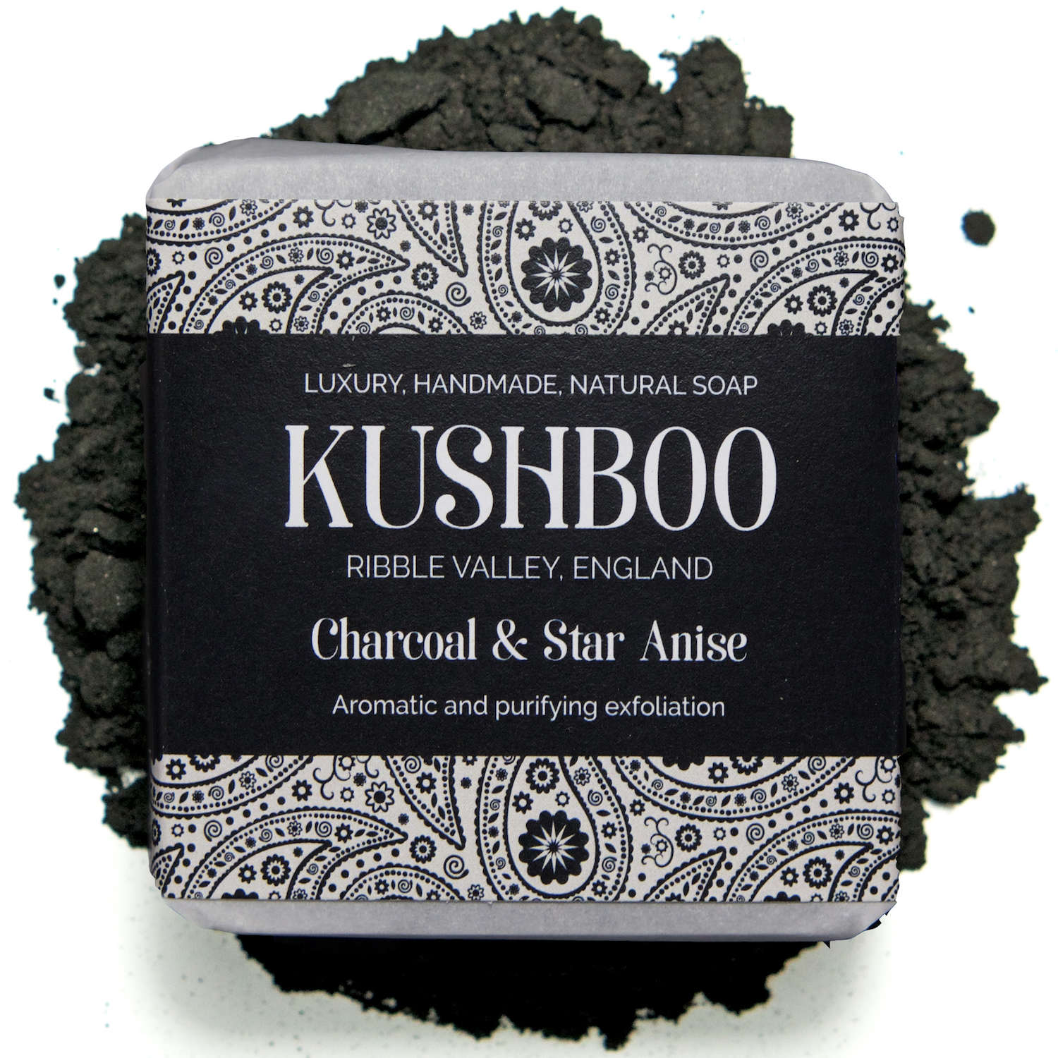 Kushboo Charcoal and Star Anise Soap