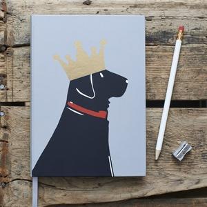 Black Labrador Notebook