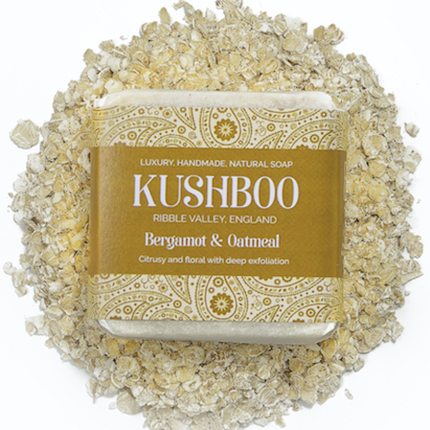 Kushboo Oatmeal and Bergamot Soap