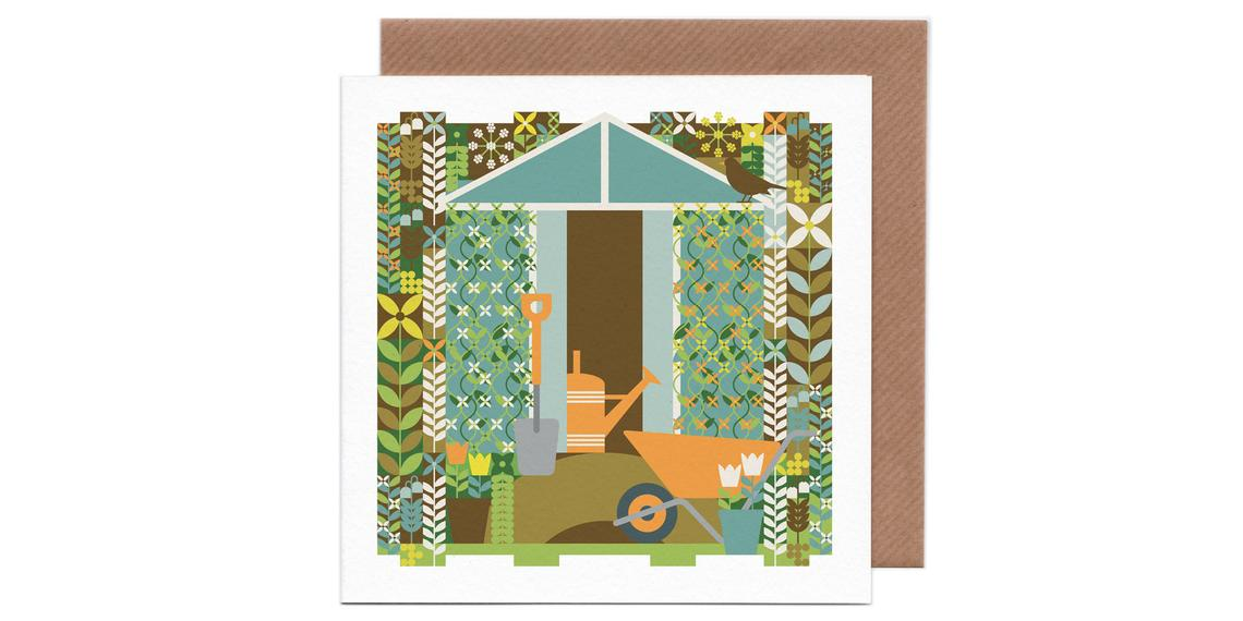 Gardening Card by Humbee
