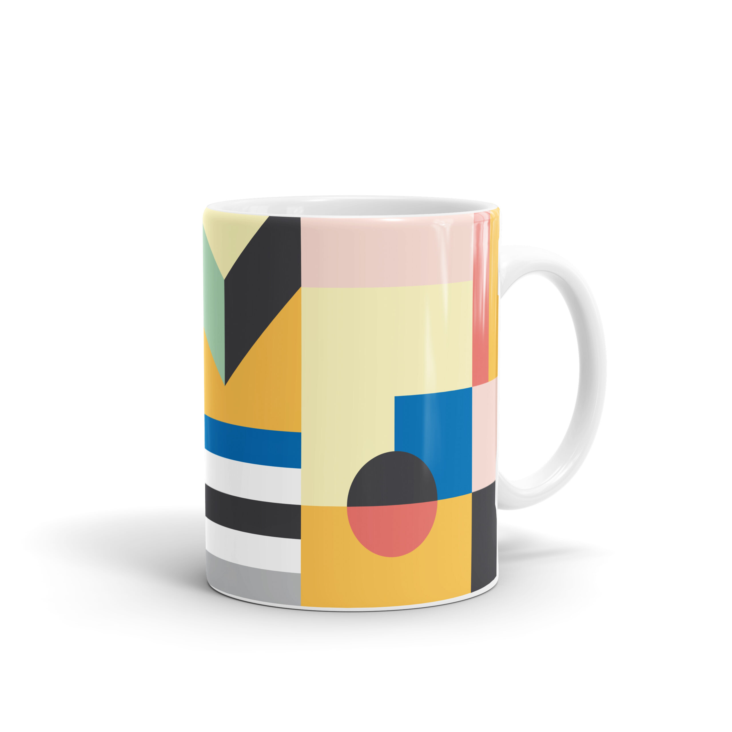 Pastel Pattern Mug by WEEW Smart Design