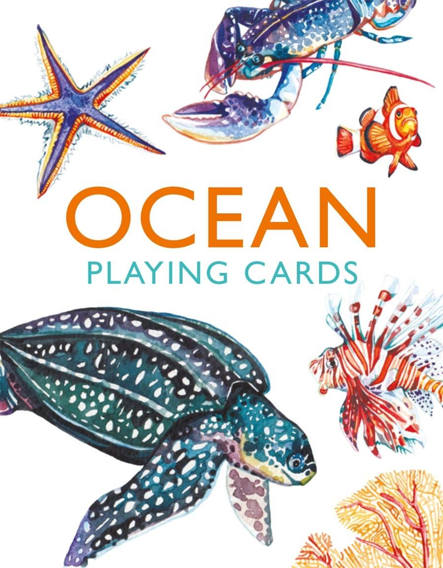 Ocean Illustrated Playing Cards