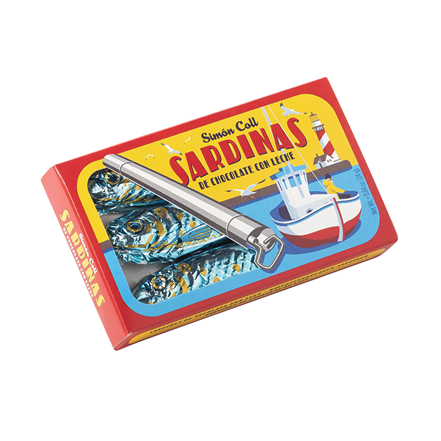 Milk Chocolate Sardines 'Tin'