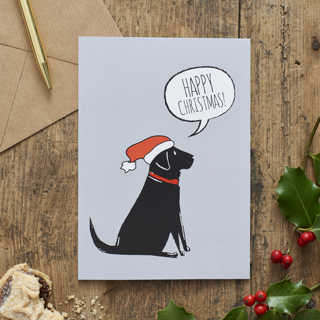 Sale - Sweet William Dog Christmas Cards