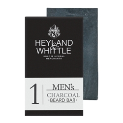 Men's Charcoal Beard Bar by Heyland & Whittle