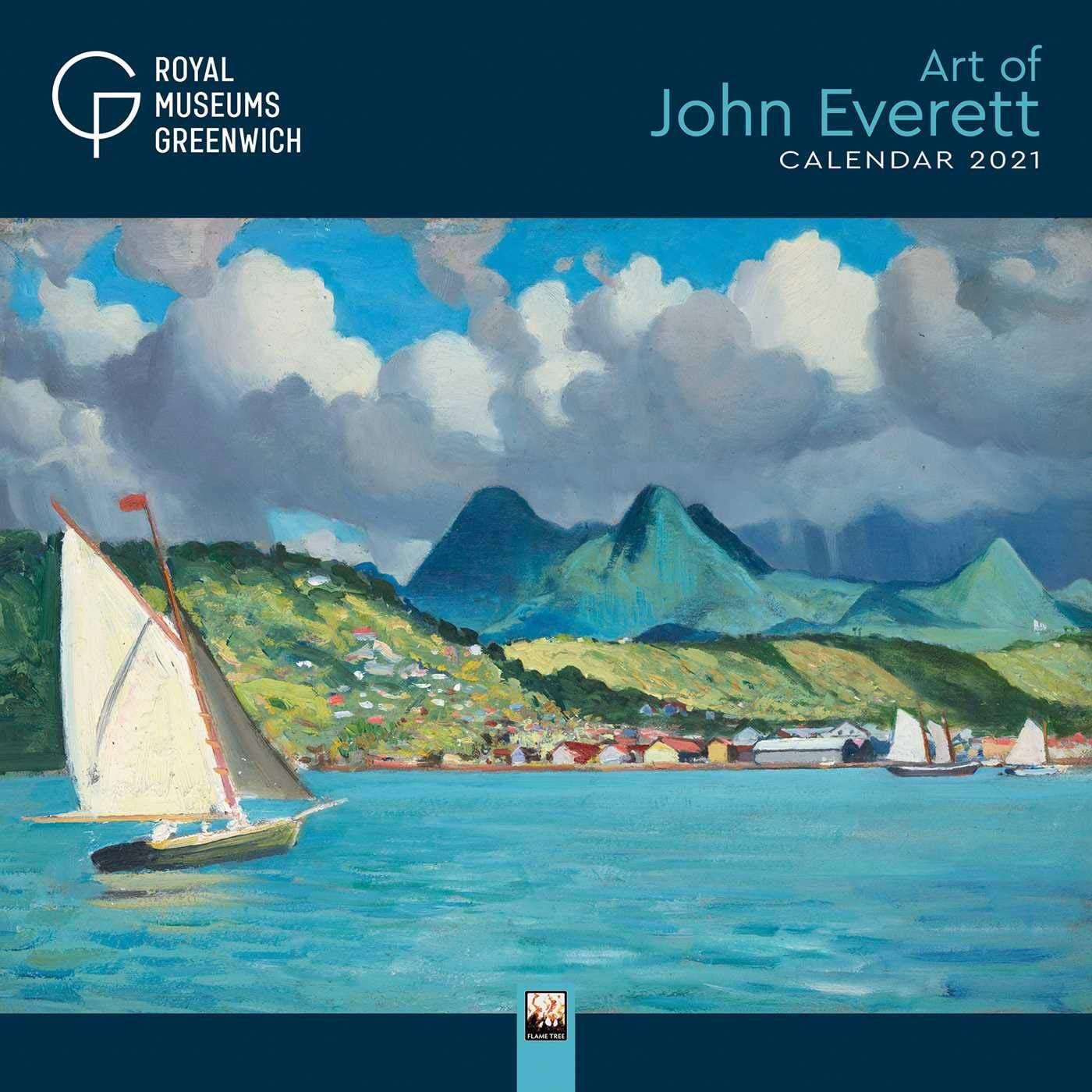 RMG Art of John Everett Wall Calendar - Sale! 2021