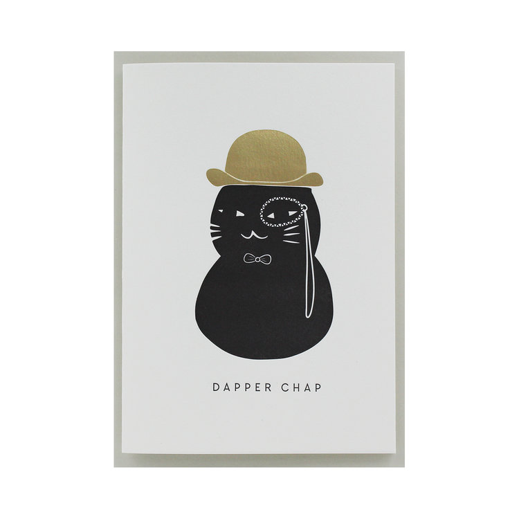 Dapper Chap Card by Artcadia