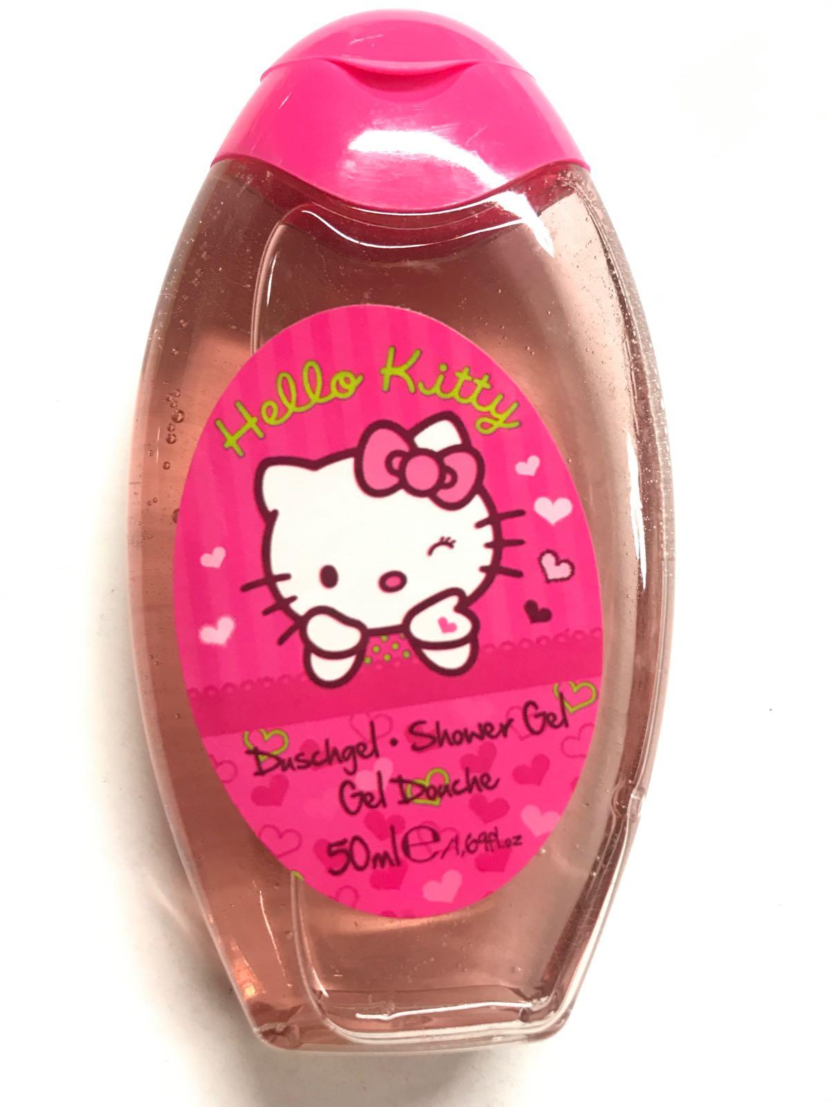 Duschgele 50 ml - Hello Kitty