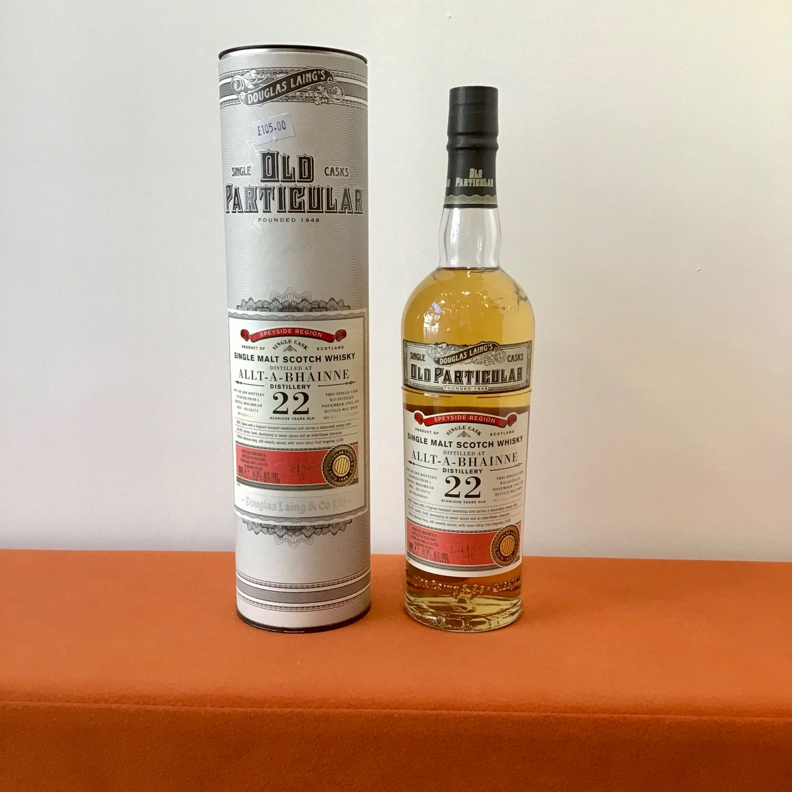 Douglas Laing Old Particular: Allt a Bhainne 22 Year Old