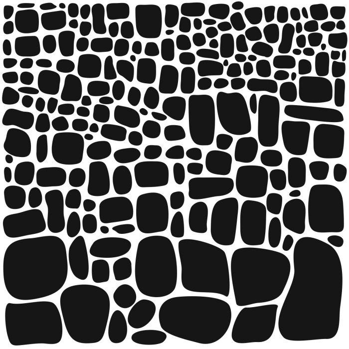 Stone Increase, 28 x 28 cm