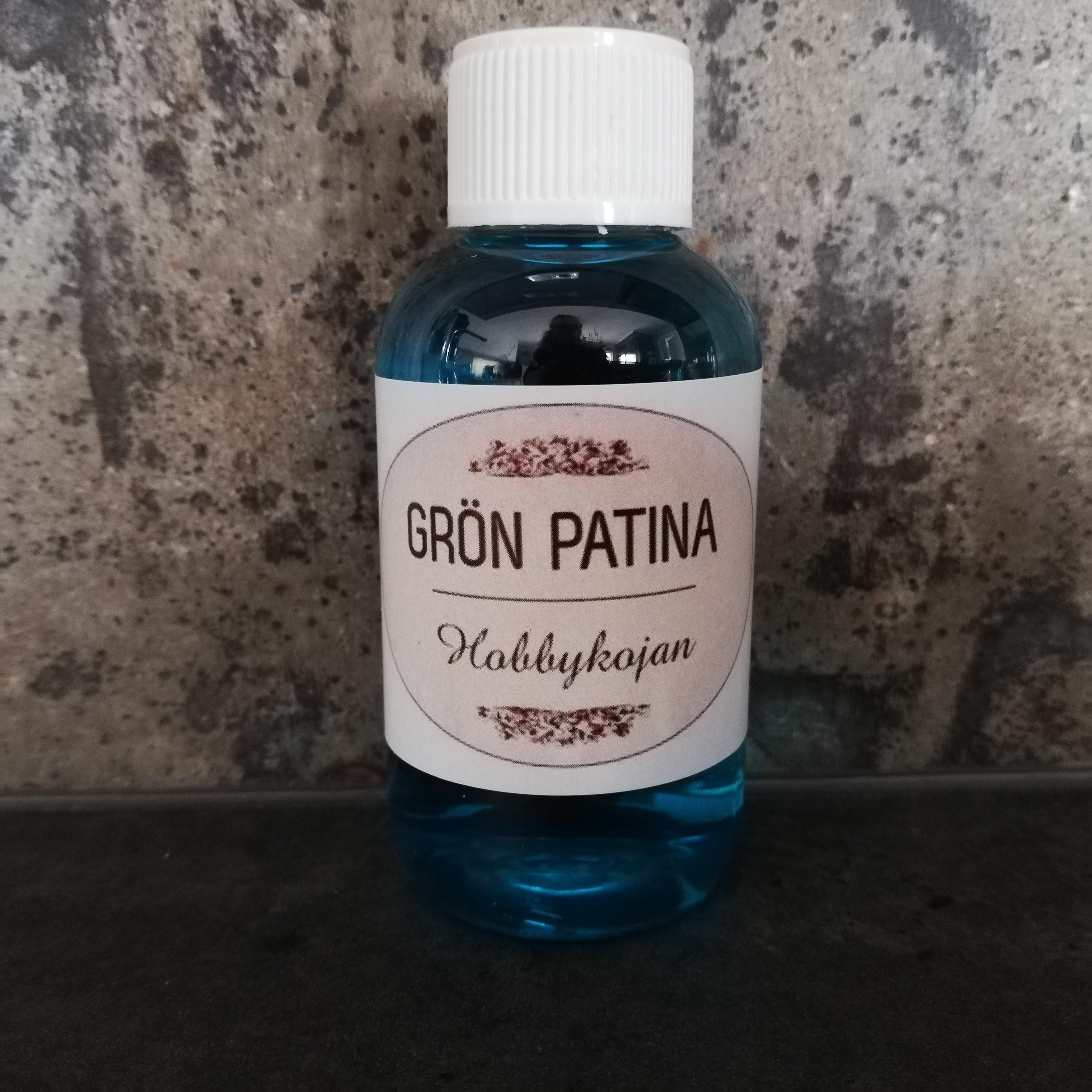 Grön patina 60 ml