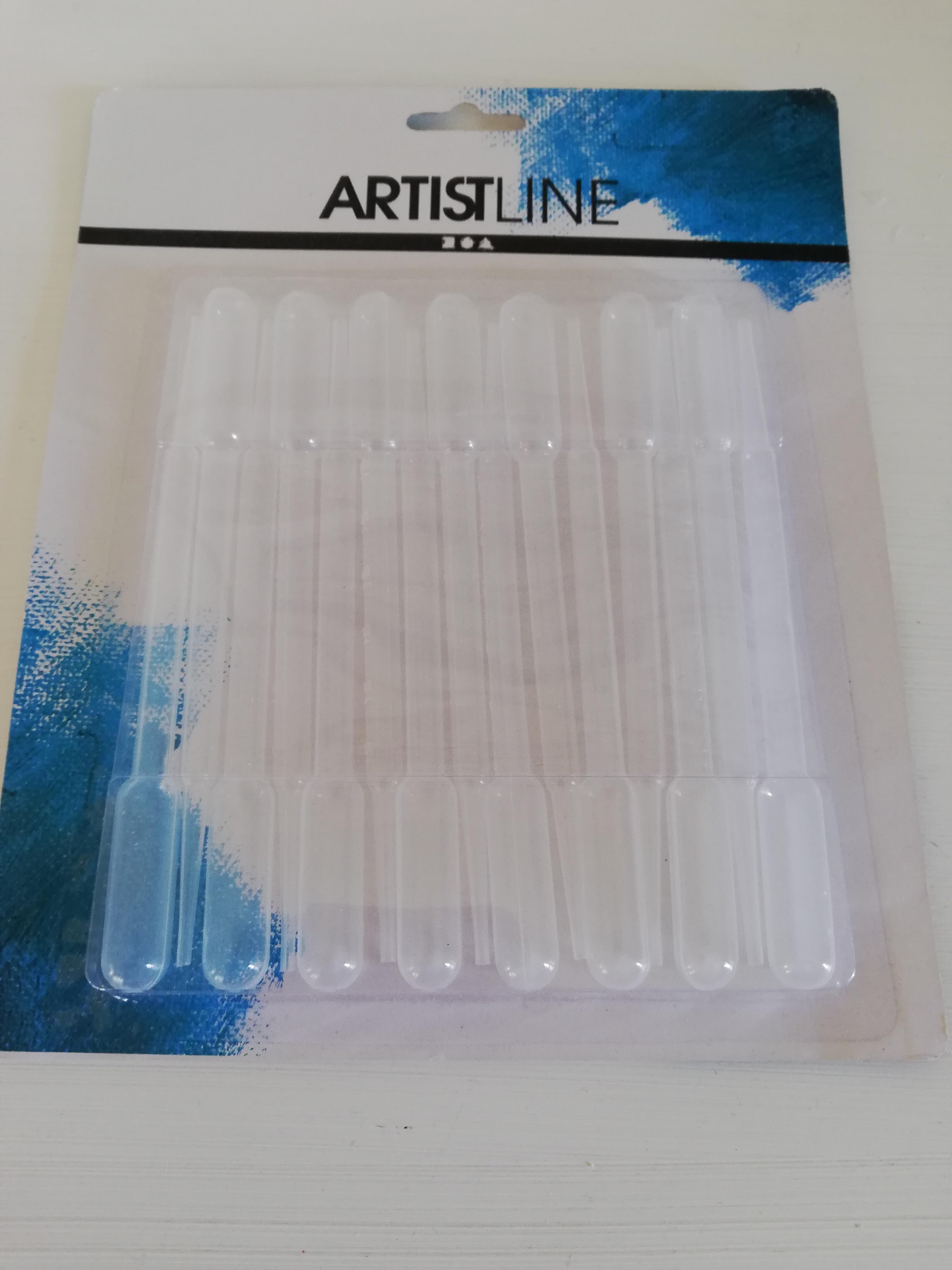 Artistline Pipetter 3 ml. 15cm. 15 stk.