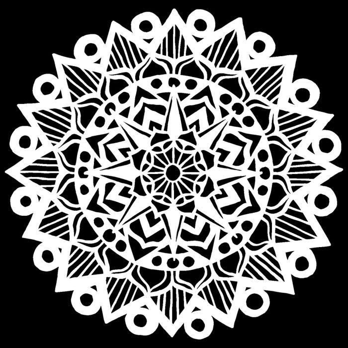 Mandala, 30,5 x 30,5