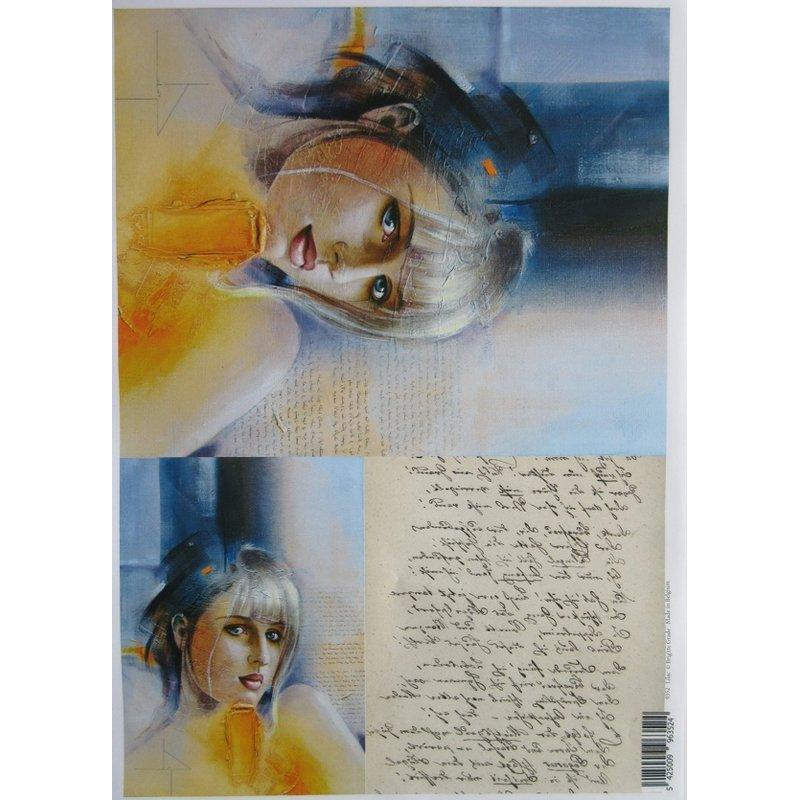 0352 Laserprint Lilac A3