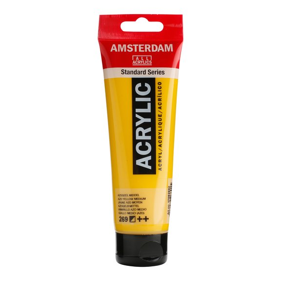 Amsterdam Azo Yellow Medium 269, 120 ml