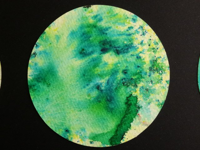 Brusho Esmeraldgrön 15 ml