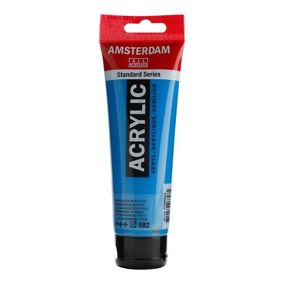 Amsterdam Manganese Blue Phthalo, 120 ml