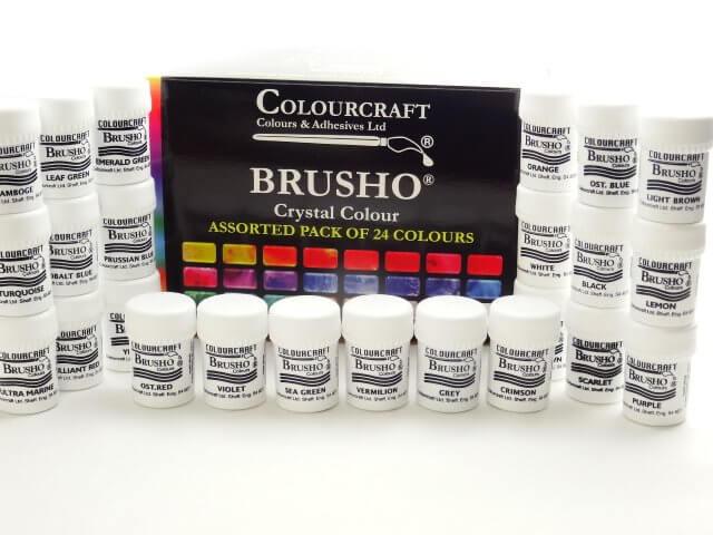 Brusho 24 pack