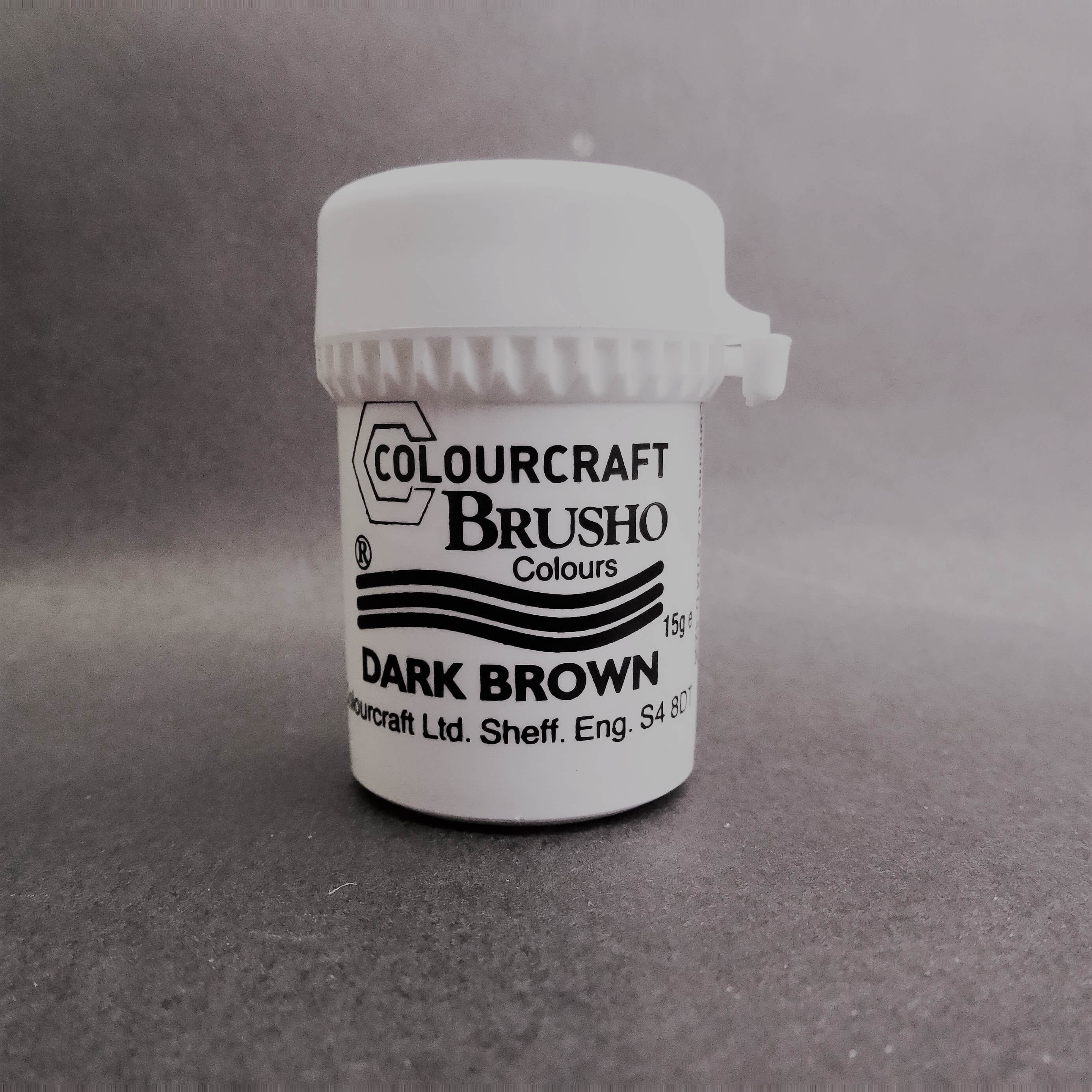Brusho Darkbrown 15 ml