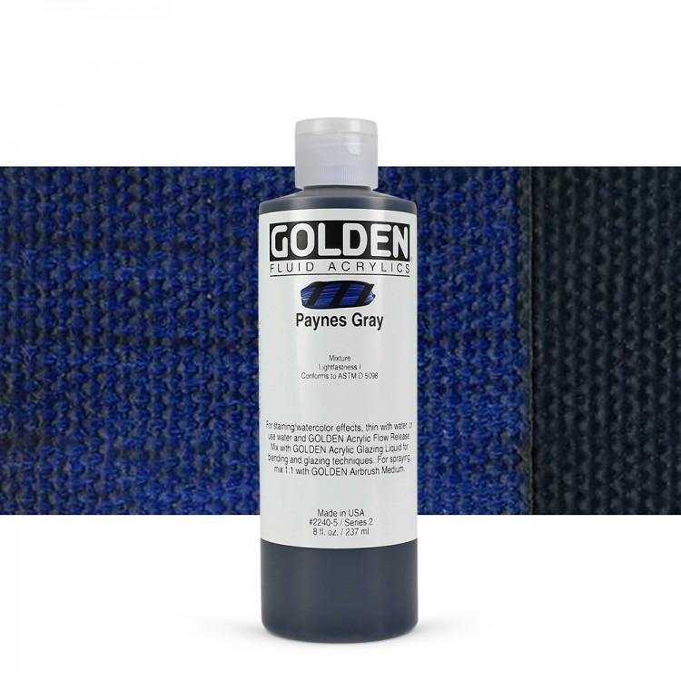 Golden fluid 118 ml Paynes Gray