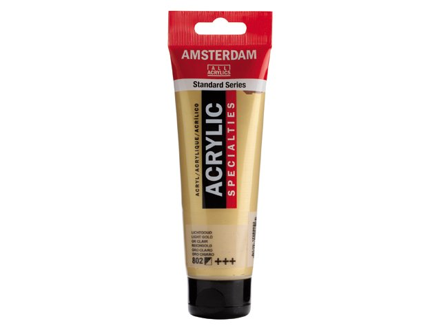 Amsterdam Light Gold 802, 120 ml