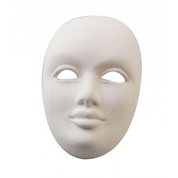 Powertex Venetiansk mask,  8,5x6x4cm
